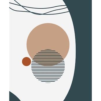 Poster Tre Cirklar