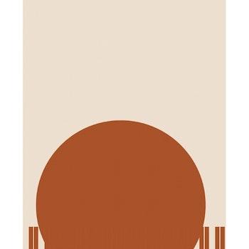 Grafisk poster - Stor Cirkel