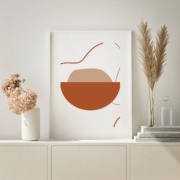 Grafisk poster - Full skål