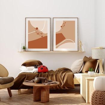 Poster Färgkombination