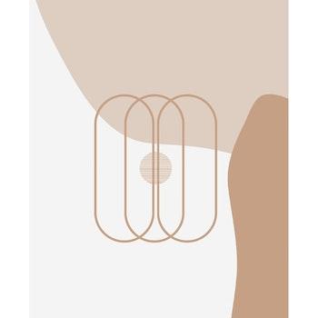 Grafisk poster - Trappa
