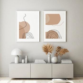 Grafisk poster - Spinnande tråd