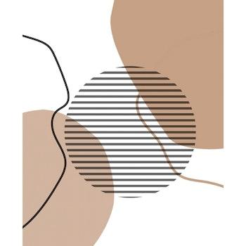 Grafisk tavla - Cirklar och profiler