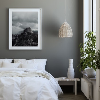 Poster/Konsttryck - Berget bland molnen
