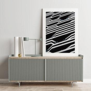 Poster/Konsttryck - Byggnadsfasad