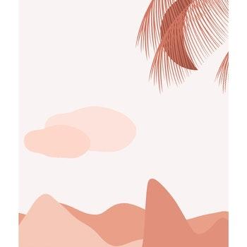 Grafisk poster - Fjädrar