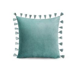 Kuddfodral Tassel - Grön