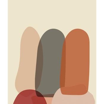 Grafisk poster - Kaktusar