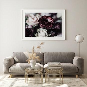 Poster/Konsttryck -  Blombukett