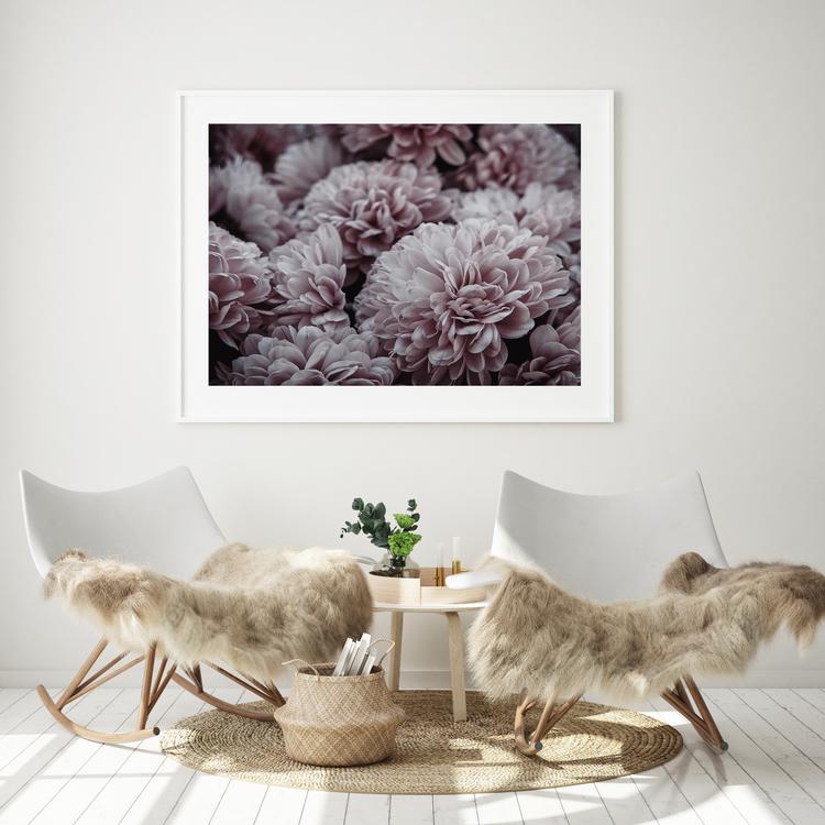 Poster/konsttryck - Blomsterhav