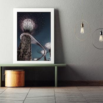 Poster/Konsttryck - Gatubelysning