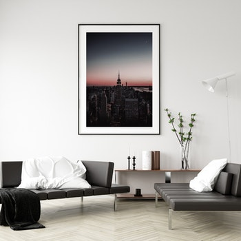 Poster/Konsttryck - New York Skymning