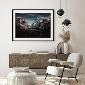 Poster/Konsttryck - Berg Och Dal
