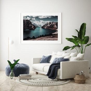 Poster/Konsttryck - Flod