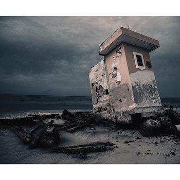 Poster/Konsttryck - Surrealistisk Hus