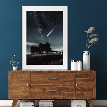 Poster/Konsttryck - Stjärnfall