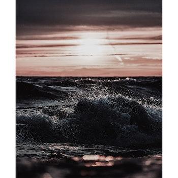 Poster/Konsttryck - Våg