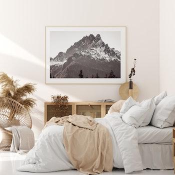 Poster/Konsttryck - Mäktigt Berg