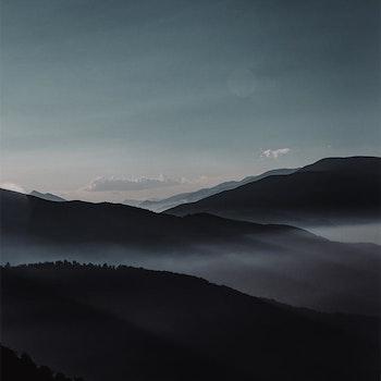 Poster/Konsttryck - Harmoniskt berg