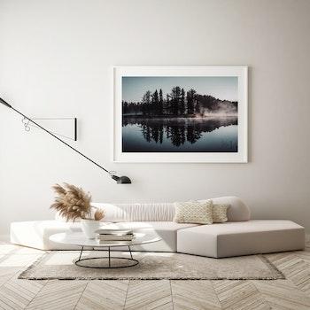 Poster/Konsttryck - Spegelsjön