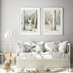VaniMeli - Första mötet ( Konsttryck / Poster )