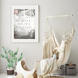 AstoLuina - ABC ( Konsttryck / Poster )