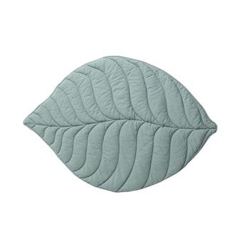Bomullsmatta Löv - Grön