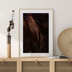 Poster/Konsttryck - Rostfärgade blad