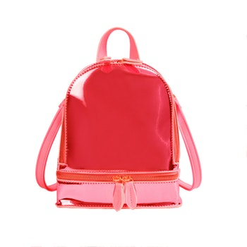 Ryggsäck Metallic - Röd