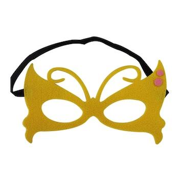 Ansiktsmask- Gul Fjäril