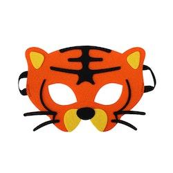 Ansiktsmask- Tiger