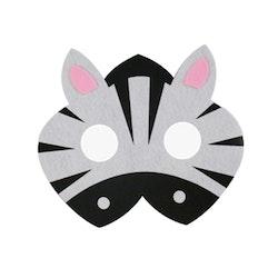 Ansiktsmask- Zebra