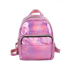 Ryggsäck Metallic - Rosa