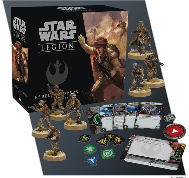Star Wars Legion Rebel Troopers Unit