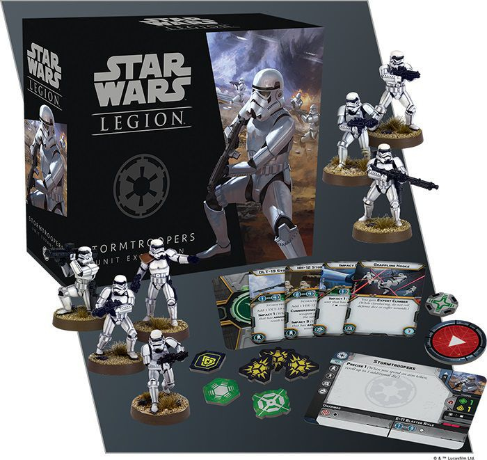 Star Wars Legion Stormtrooper Unit