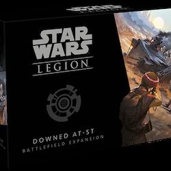 Star Wars Legion Downed AT-ST
