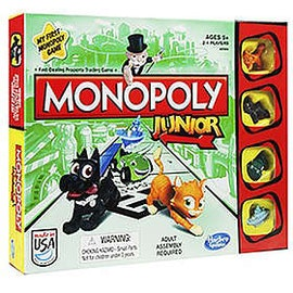 Monopoly Junior New Ed. SE/FI
