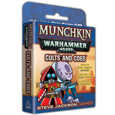 Munchkin Warh 40K Cults & Cogs