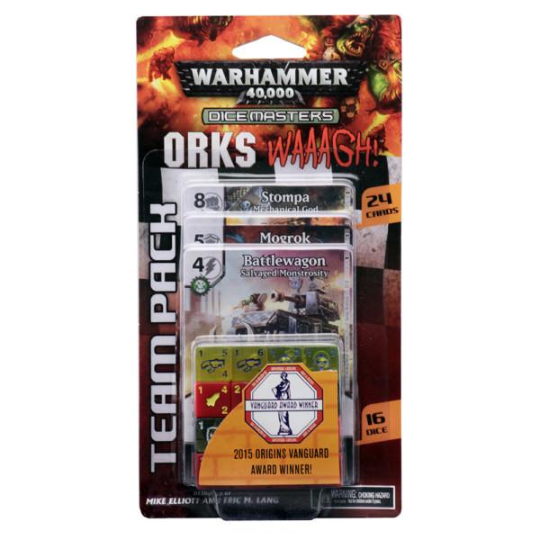 Warham 40K DM Orks WAAAGH! Team Pack