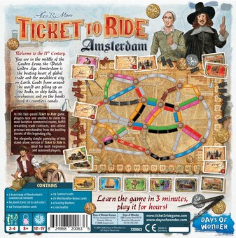 Ticket to Ride Amsterdam Nordic