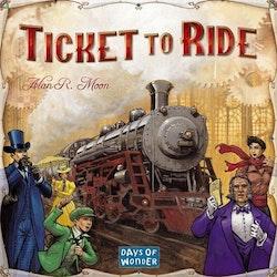 ticket to ride USA (Svensk)