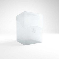 GameGenic Deck Holder 100+ Deck Box Clear