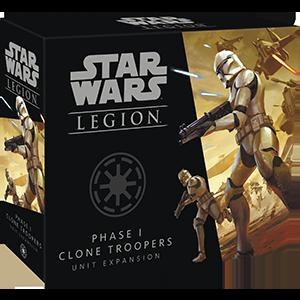 Star Wars Legion Phase 1 Clone Troopers