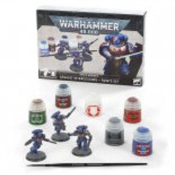 Warhammer 40K Assault Intercessors + Paint Set