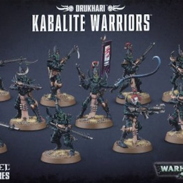 Warhammer 40K Kabalite Warriors