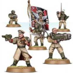Warhammer 40K Cadian Command Squad