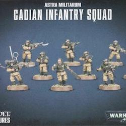 Warhammer 40K Cadian Infantry Squad