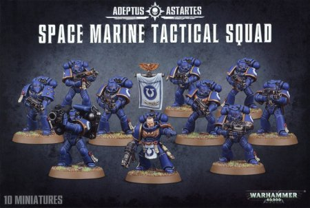 Warhammer 40K Space Marines Command Squad Pointing Arm