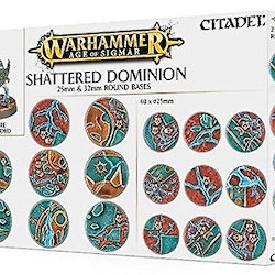 AOS: Shatterd Dominion 25 & 32mm Round Bases