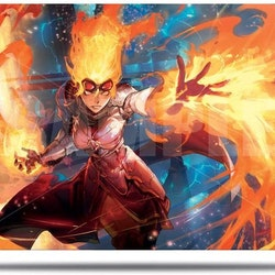 Playmat MTG War Of The Spark chandra